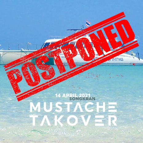 Mustache Yacht Party | Songkran Festival