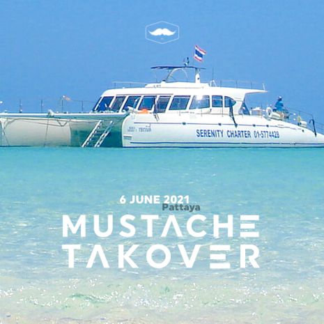 Mustache Takeover the Yacht - Pattaya